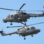 Royal Naval Black Cat Helicopters