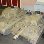 Model WWII German Tanks