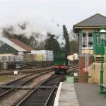 Signal box at Kingscote