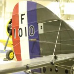 Tail Fin of de Havilland DH9A